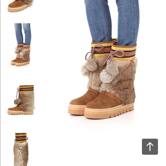 Chloe Oxana Platform Boots   Poshmark
